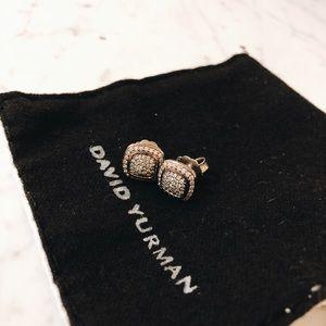 David Yurman Albion Diamond stud earrings